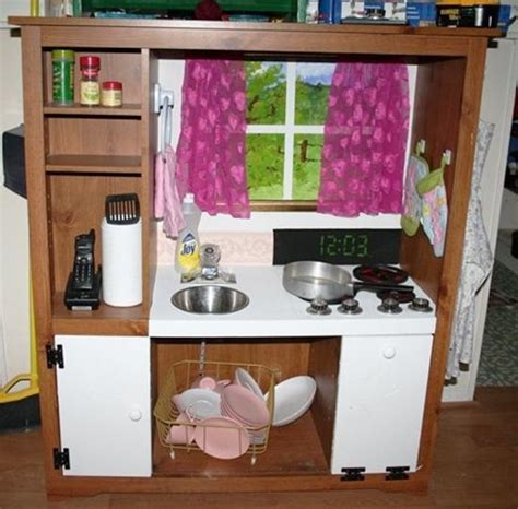 play kitchen ideas 25 ideas recycling furniture for diy play kitchen designs