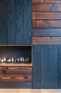 Shou Sugi Ban : 17 best ideas about linear fireplace on pinterest ~ Zukunftsfamilie.com Idées de Décoration
