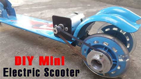 e scooter motor how to make a electric scooter at home using 775 motor