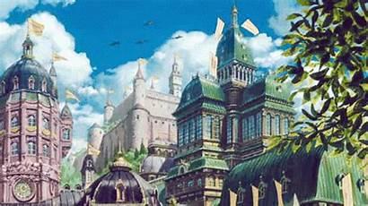 Castle Moving Howl Howls Gifs Midworld Deviantart