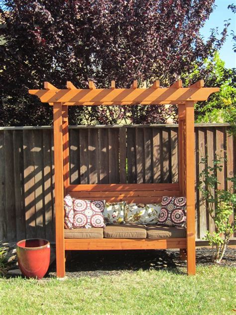 pdf diy garden bench arbor plans greenhouse