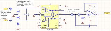 Differential Instrumentation Amplifier Noise Amplified