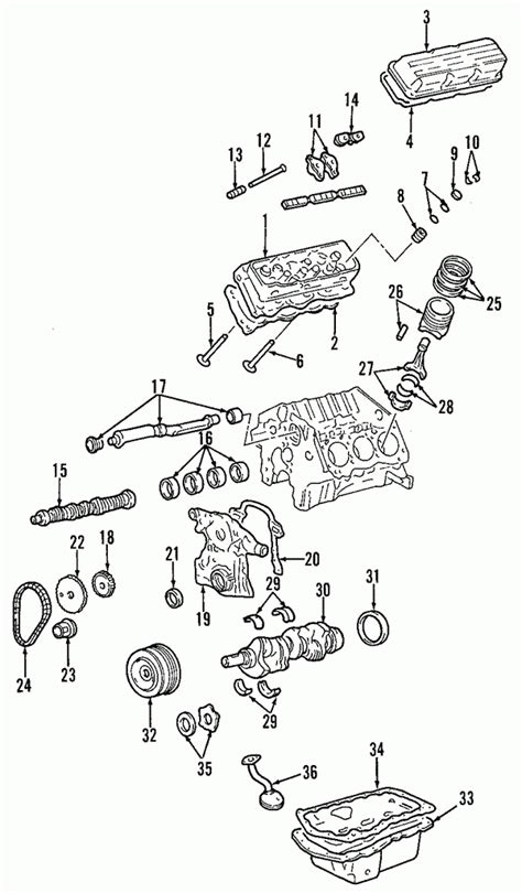 Pontiac Grand Prix Engine Diagram Automotive Parts