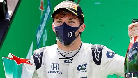 AlphaTauri's Pierre Gasly takes his first Grand Prix win ...