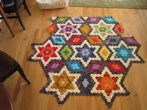 Hexagon Star Quilt Block