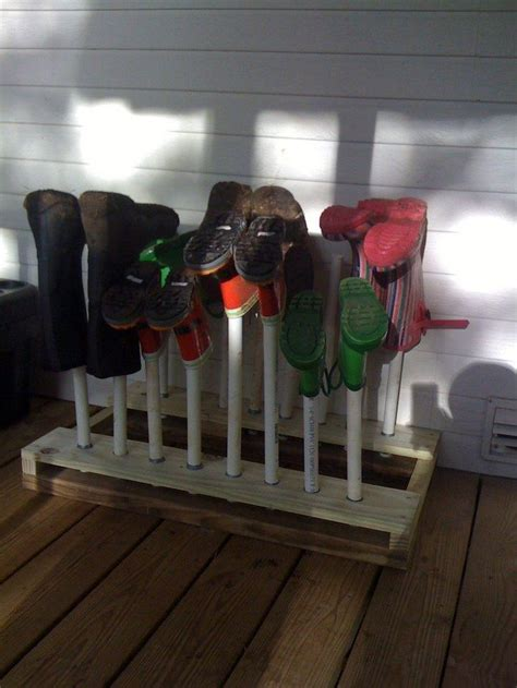 build  boot rack diy projects