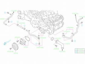 2020 Subaru Legacy Gasket-outlet Housing  Water  Pump  Engine  Cooling