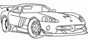 Free coloring pages of dodge viper cars