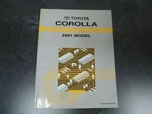 2001 Toyota Corolla Sedan Electrical Wiring Diagrams