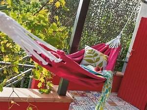 Accrocher Hamac Arbre : cet t j 39 ose le hamac elle d coration ~ Premium-room.com Idées de Décoration