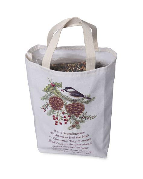 bird seed gift bag 2 lbs of bird seed christmas bird seed