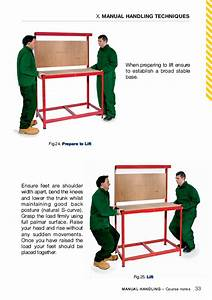 Manual Handling Safety Guide Book