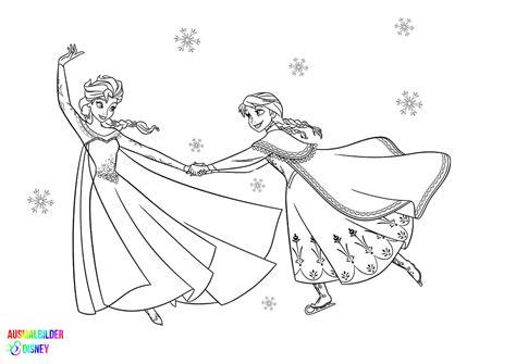 Ausmalbilder Disney Malvorlagen Elsa