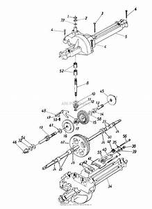 Mtd 13a0673g131  1998  Parts Diagram For Transmission Assembly 618