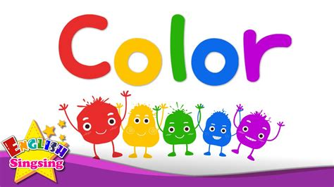 color word vocabulary color color mixing rainbow colors