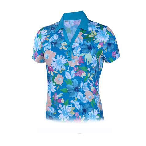 Monterey Club Clothing by Monterey Club Golf Floral Print Top 2652 Ebay