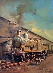 guild of railway artists gallery trains locomotives