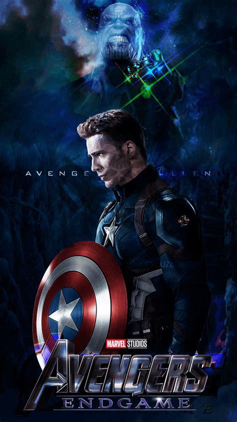 captain america avengers endgame phone wallpapers