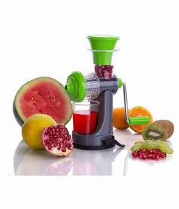 Cennet Fruit  U0026 Vegetable Nano Manual Juicer  Buy Online At