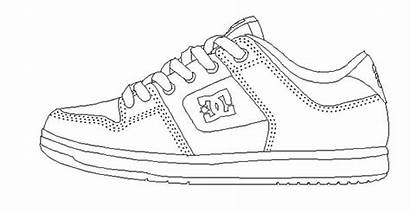 Coloring Shoes Dc Sheet