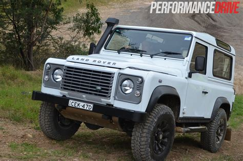 Rover Defender Review by Land Rover Defender 90 Review Performancedrive