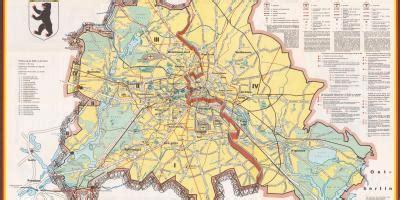 berliner mauer karte berliner mauer route deutschland