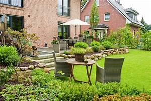 Garten Hanglage Begradigen : familiengarten ber zwei ebenen ~ Markanthonyermac.com Haus und Dekorationen