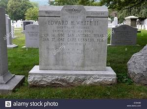 Grave of American Astronaut Edward H White, First American ...