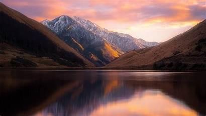 Zealand Landscape Lake Nature Mountains Wallpapers Kirkpatrick