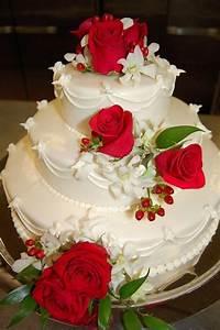 Beautiful Red Rose Wedding Cake.. | wedding | Pinterest ...