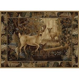 deer area rug 8x10 shop