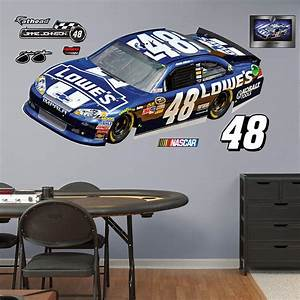 jimmie johnson 48 lowe39s car 2012 wall decal shop With kitchen cabinets lowes with number stickers for cars