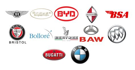 Car Brands With A-z