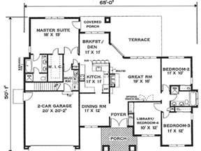 Minimalist House Plans by 1 Floor Modern Minimalist House Plan 4 Home Ideas
