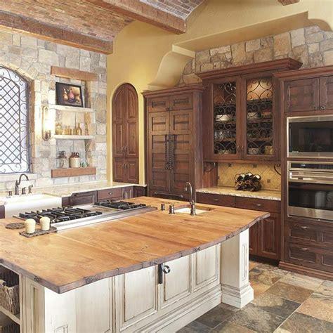 comptoir bois cuisine comptoir de cuisine en bois rustique wraste com