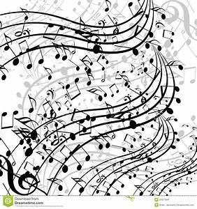 Music notes stock illustration. Image of flow, manuscript ...