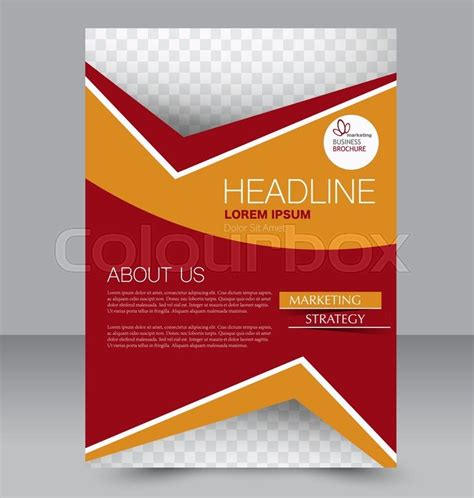 Background Brochure Templates by Abstract Flyer Design Background Brochure Template Can