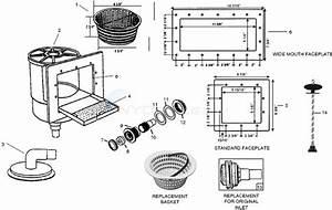 Hercules  Jacuzzi  Splash Pak Skimmer Parts
