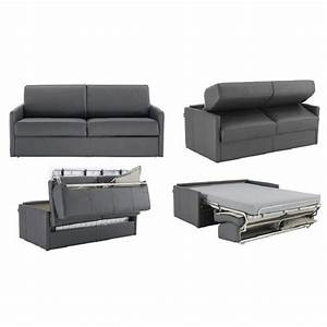 Rapido convertibles canapes systeme rapido canape lit 2 for Canape cuir convertible gris
