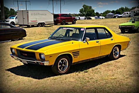 Holden Hq Gts by Holden Hq Gts Yellow 2 By Edpreece On Deviantart