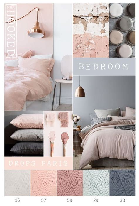 Bedroom Color Schemes Pink by 2018 Bedroom Colours Grey Pink Copper Were The Magic