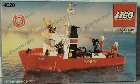 Lego Boat Weight by Lego 4020 Fighting Boat Set Parts Inventory And