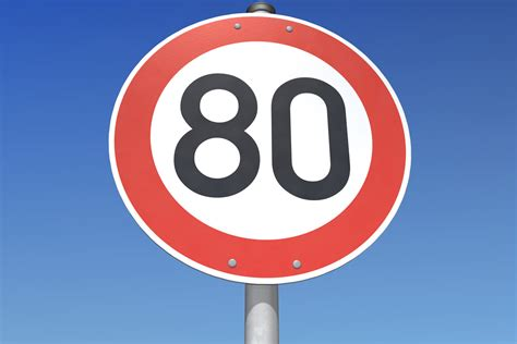 mph speed limit held   public opinion  road