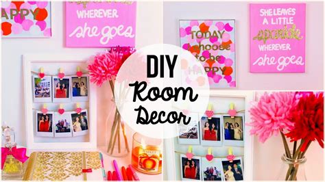 diy room decor ideas home wall decoration
