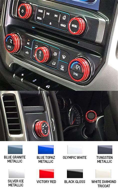 silverado interior knob kit choose
