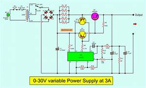 Adjustable 0-30v 3a Laboratory Dc Power Supply