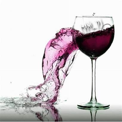 Wine Glass Drinking Animated Gifs Romantic Rose