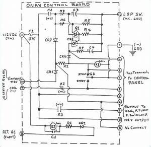 Onan Microquiet 4000 Wiring Diagram