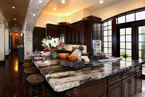 espresso kitchen island espresso kitchen cabinets trendy color for your kitchen 3596