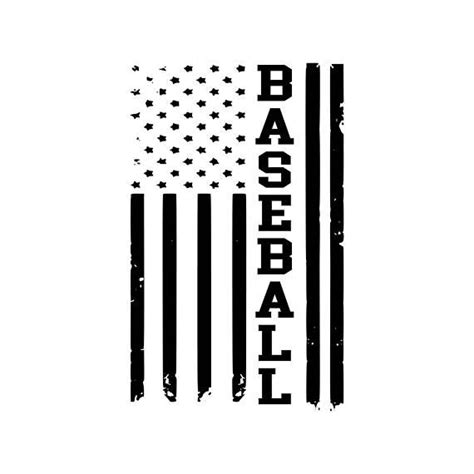 The american flag design above includes: Digi-tizers Baseball American Flag Rugged (SVG Studio V3 ...